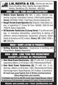 Free RECRUITMENT jobs in Gulf