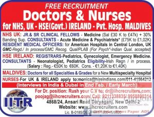 NURSE JOBS IN UK AND GULF COUNTRIES