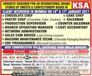 mumbai news paper for gulf jobs