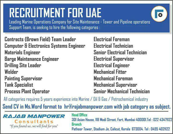 GULF POWER JOBS IN GULF:
