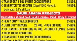 Huge gulf job vacancies