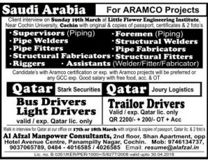 TECHNICIAN JOBS IN SAUDI