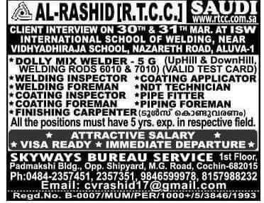 LATEST JOBS IN SAUDI ARABIA