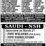SAUDI JOB OPPORTUNITIES