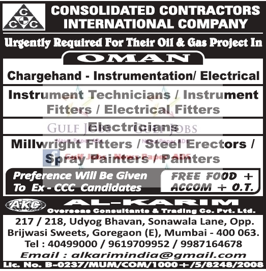 Painting Contractor In Mumbai: Jobs Abroad