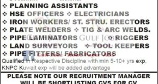 ASIA POWER GULF JOBS FOR INDIANS