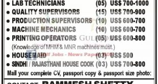 Abroad jobs for indian