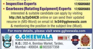GHEEWALA JOBS