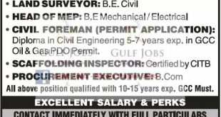 JOBS IN MUSCAT OMAN FOR EXPATS