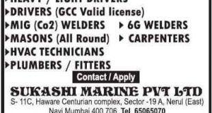 Latest Jobs 2019 September 11, 2019