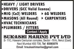 abu dhabi job vacancy list