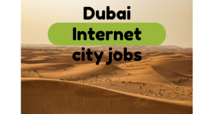 Dubai Internet city jobs