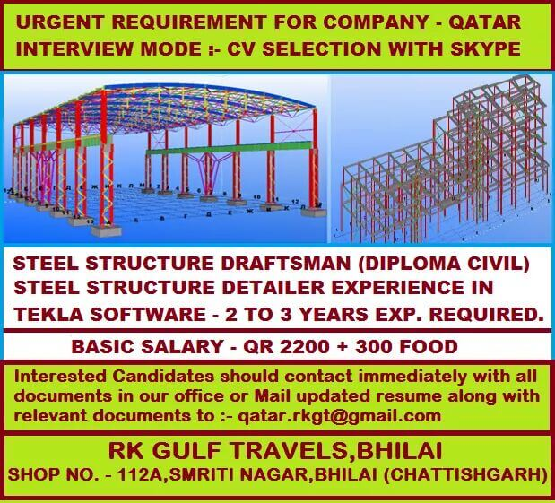 QATAR STEEL GULF JOB VACANCY