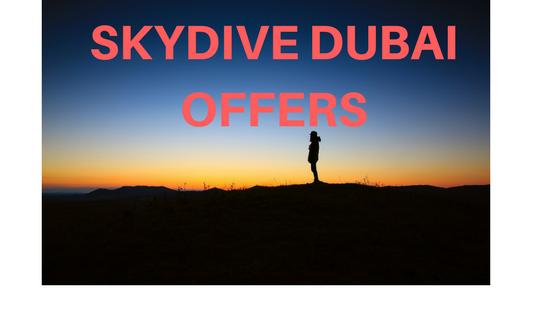 Dubai Skydiving Prices