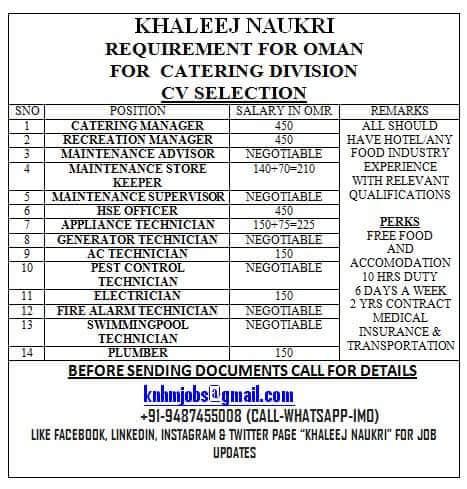 CV Selection jobs in oman