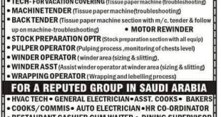 JOBS IN SAUDI ARABIA COMPANIES