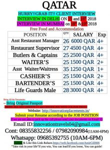 WALK IN INTERVIEW IN DELHI