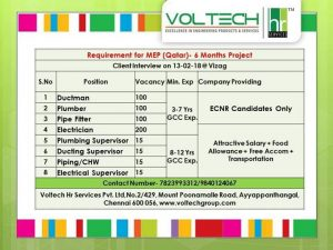 GULF JOBS IN VISAKHAPATNAM