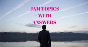 JAM TOPICS