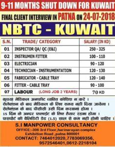 NBTC KUWAIT INTERVIEWS