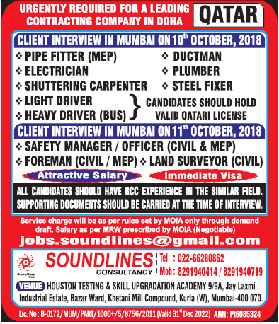 gulf job soundlines