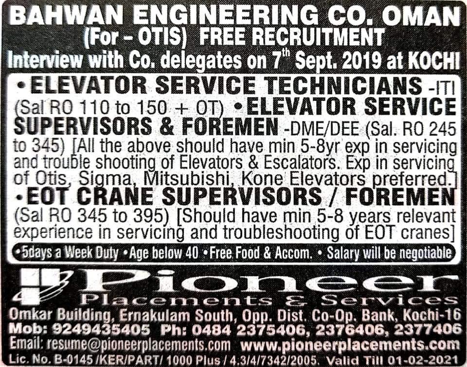 gulf Jobs in Cochin
