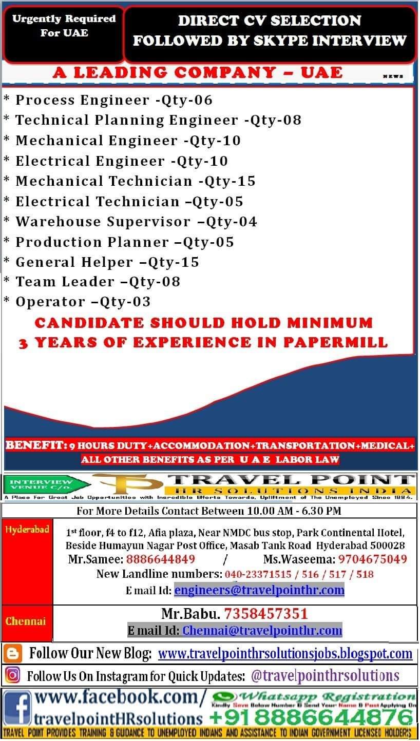 COMPANY JOBS IN UAE
