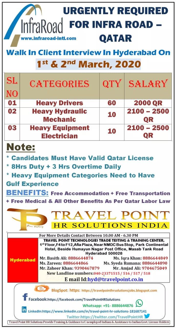 HUGE OPPORTUNITIES IN QATAR