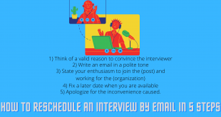 How to Reschedule an Interview Gracefully with Samples