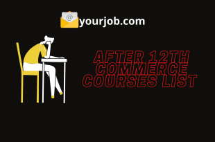 After 12th Commerce Courses list
