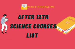 After12th Science Courses list