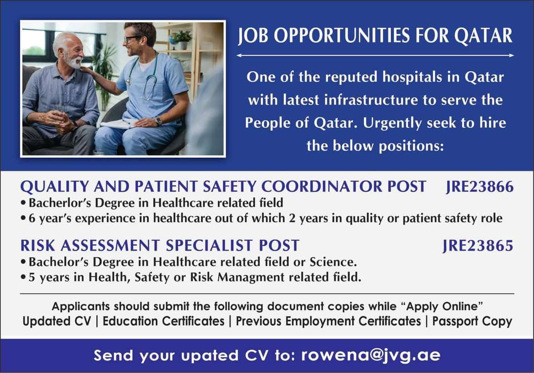 WALK IN INTERVIEWS AT MUMBAI FOR QATAR LATEST INFRASTRUCTURE COMPANY